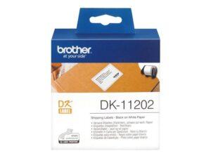 BROTHER_DK-rullatarra_valkoinen_paperi__62mmx100mm