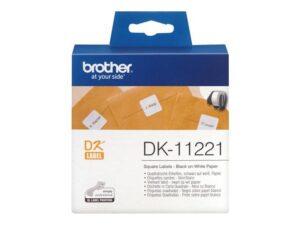 BROTHER_DK-TARRA_1000kpl_23X23mm