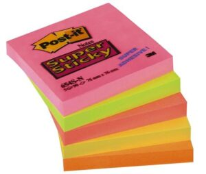 3M_Post-it_Super_Sticky_654S_neonlajit__90_lappua_5-pakk